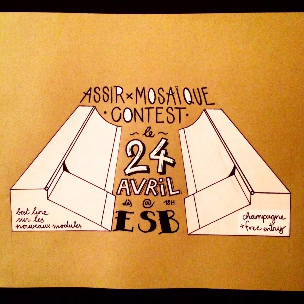 sk8 contest assir mosaique