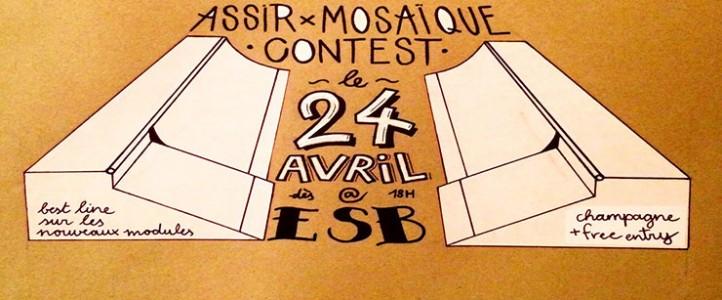 ASSIR & Mosaïque Sk8 Contest
