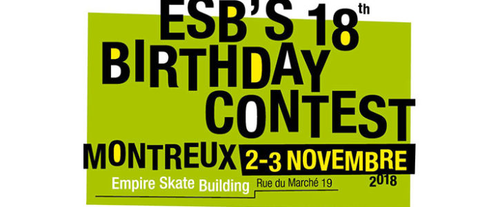 Events – ESB's Birthday Contest – formulaire d'inscription